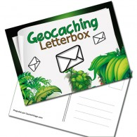 "Carte Postale ""Geocaching Letterbox"""