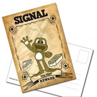 "Carte Postale ""Signal The Frog"""