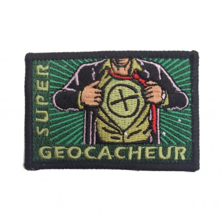 """Patch """"Super Geocacheur"""""""