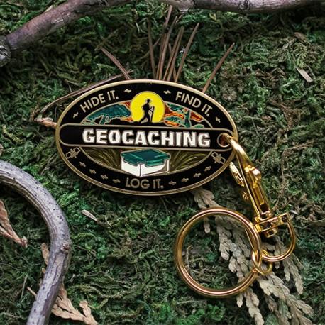Hide It. Find It. Log It. Geocoin. - Réédition Historique