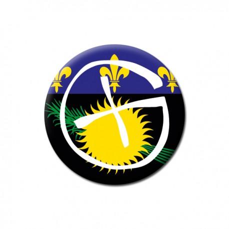 Badge Geocaching - Guadeloupe