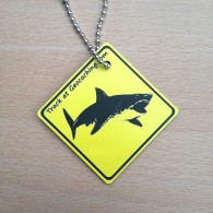 Friends on the road Travel Tag - Shark