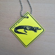 Friends on the road Travel Tag - Alligator