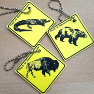 Friends on the road AMERICA Set - 3 Travel Tags