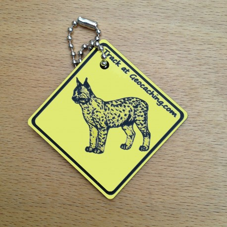 Friends on the road Travel Tag - Lynx