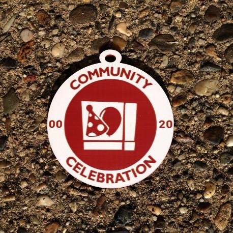 """Grande breloque - Souvenir Geocaching """"Community Celebration"""""""