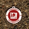 "Grande breloque - Souvenir Geocaching ""Community Celebration"""