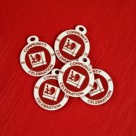 """Lot de 5 petites breloques - Souvenir Geocaching """"Community Celebration"""""""
