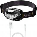 Lampe frontale LED 7000Lm rechargeable par USB