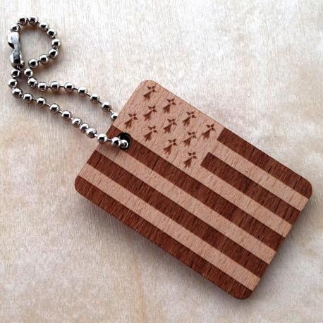 Wooden Flag Bretagne
