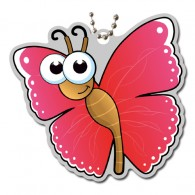 Little Garden Creature Travel Tag - Papillon (BUTTERFLY)