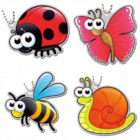 Little Garden Creatures Set - 4 Travel Tags