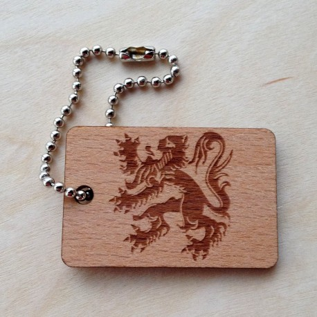 Wooden Flag Flandres