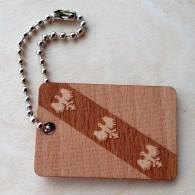 Wooden Flag Lorraine
