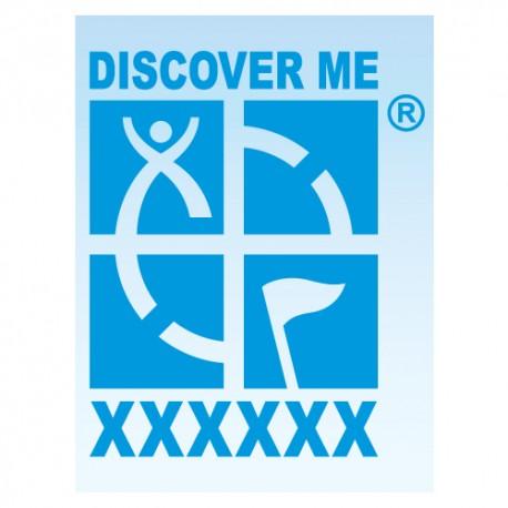 Logo Geocaching pour véhicule - Bleu Decal
