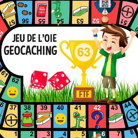 Jeu de l'Oie Geocaching, by Cache Village