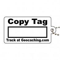 Copy Tag Noir - Tag de remplacement pour traçables