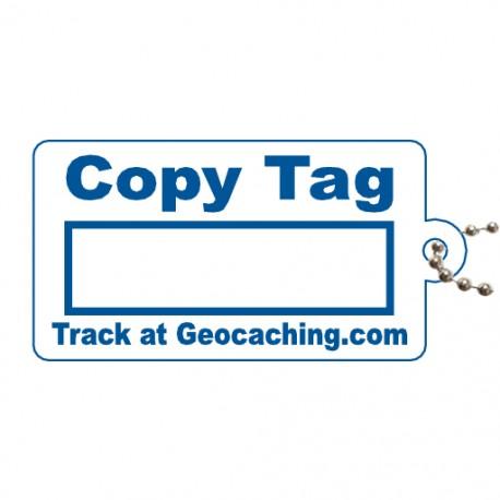 Copy Tag Bleu - Tag de remplacement pour traçables