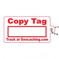 Copy Tag Rouge - Tag de remplacement pour traçables