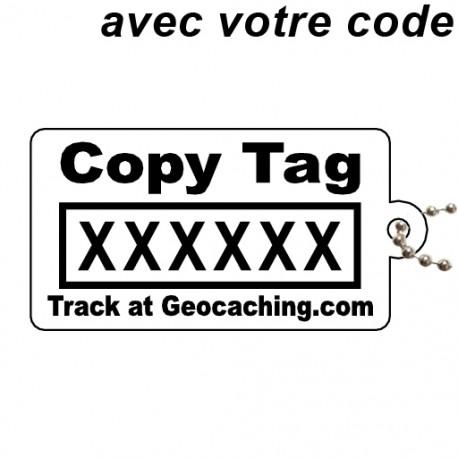 Copy Tag Noir - Avec votre code