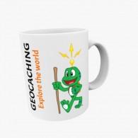 "Mug Geocaching - Signal the Frog® ""Explore the world"""