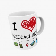 Mug I love Geocaching