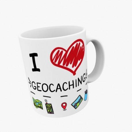 Mug I love Geocaching