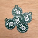 "Lot de 5 petites breloques - Souvenir ""Celebrating 20 Years of Geocaching"""