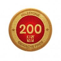 Milestone Patch - 200 Finds