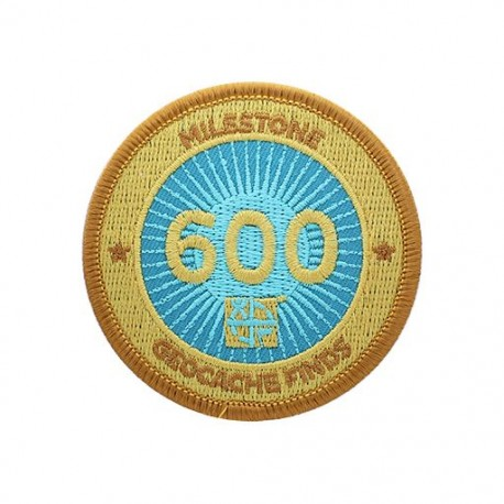Milestone Patch - 600 Finds