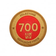 Milestone Patch - 700 Finds