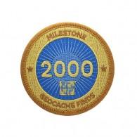 Milestone Patch - 2000 Finds