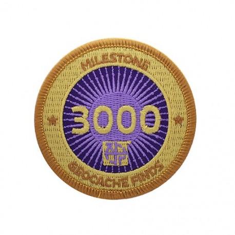 Milestone Patch - 3000 Finds