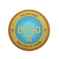Milestone Patch - 8000 Finds
