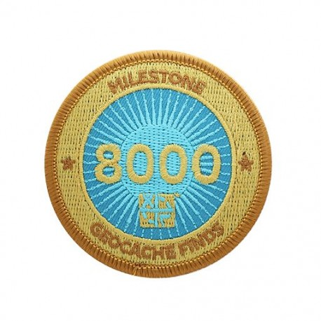 Milestone Patch - 8000 Finds