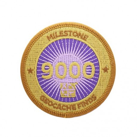 Milestone Patch - 9000 Finds