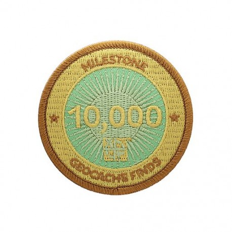 Milestone Patch - 10,000 Finds