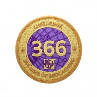 Challenges Patch - 366 Days of Geocaching