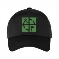 Casquette Geocaching - Noir/Vert