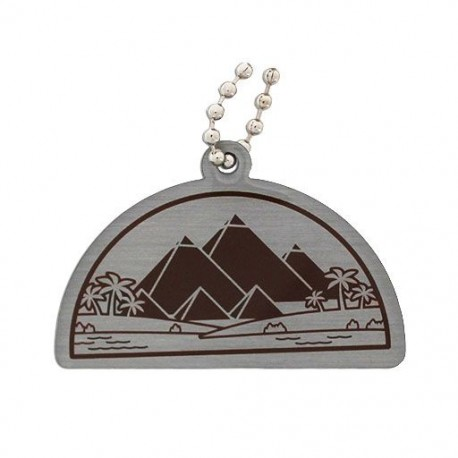 Ancient Wonders of the World Trackable Tag - Great Pyramid of Giza
