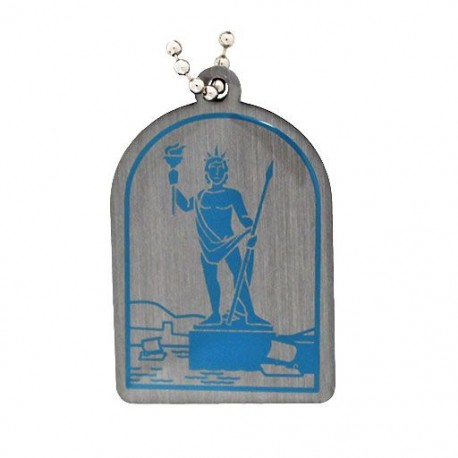Ancient Wonders of the World Trackable Tag - Colossus of Rhodes