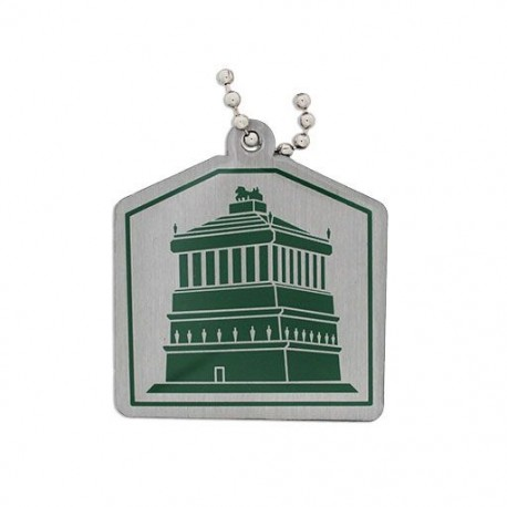 Ancient Wonders of the World Trackable Tag - Mausoleum of Halicarnassus