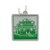 Ancient Wonders of the World Trackable Tag - Hanging Gardens of Babylon