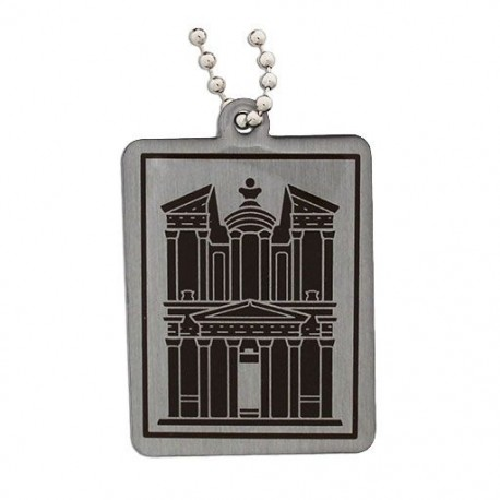 Modern Wonders of the World Trackable Tag - Petra