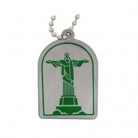 Modern Wonders of the World Trackable Tag - Christ the Redeemer