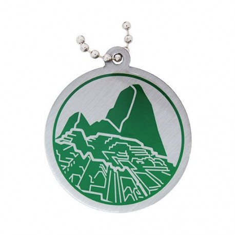 Modern Wonders of the World Trackable Tag - Machu Picchu