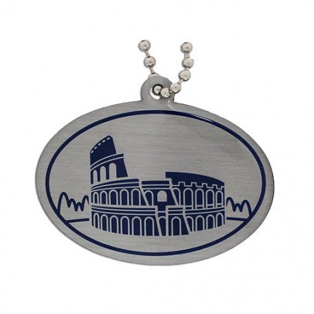 Modern Wonders of the World Trackable Tag - Roman Colosseum
