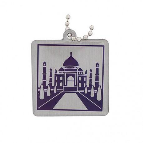 Modern Wonders of the World Trackable Tag - Taj Mahal