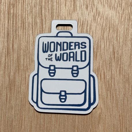 "Breloque Souvenir ""Wonders of the World"""