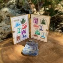 Wonders of the World Passport Geocoin and Trackable Tag Set - (2 Trackables)